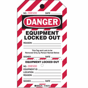 Brady 105370 Two-Part Perforated Lockout Tag