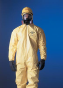 Tychem� QC Chemical Protection Coveralls With Serged Seams