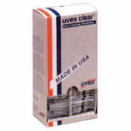 Uvex S468 Clear Lens Cleaning Pocket Size Towelettes, S468