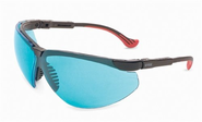 Uvex S3312X Genesis XC Safety Eyewear, Black Frame, SCT-Blue UV Extreme Anti-Fog Lens