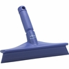 "Vikan, Rubber Polypropylene Frame Bench Single Blade Squeegee, 10"", Purple"