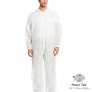Valutek, VTMCVRL Cleanroom Coveralls, 25 pieces