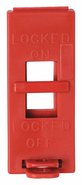 Brady 65696 Red Wall Switch Lockout, Red, PK6