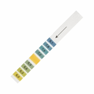 Whatman WHA2629990 Type CF Narrow Range pH Test Strips with Colorimetric Chart, pH Range: 6 to 8.1, Size: 11 x 100mm (Pack of 200