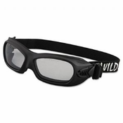 Jackson, Wildcat, Safety Goggles, Black Frame Clear Lens