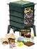 Natures Footprint, Worm Factory® 360 Worm Bin, Next Generation 4 Tray Vermicomposting System
