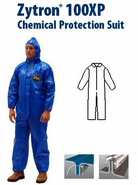 Kappler Zytron Z100XP Coverall with Collar & No Elastic.