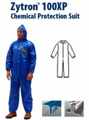 Kappler® Zytron® Z100XP Coverall with Collar and Elastic Wrists and Ankles.