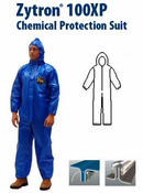 Kappler Zytron Z100XP Coverall with Hood, Elastic Wrists and Ankles.
