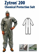 Kappler® Zytron® Z200 Coverall with Collar & Elastic Wrists and Ankles.