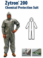 Kappler® Zytron® Z200 Coverall with Hood & Elastic Wrists and Ankles.