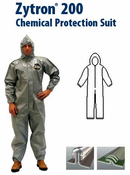 Kappler Zytron Z200 Coverall with Hood & Elastic Wrists and Ankles.