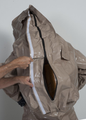 Kappler® Zytron® Z200 Totally Encapsulating Level B Rear Entry Suit w/ Expanded Back