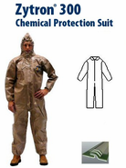 Kappler Zytron Z300 Coverall with Collar & No Elastic.