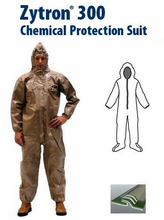 Kappler® Zytron® Z300 Coverall with Hood & Boots and Elastic Wrists.