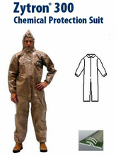 Kappler® Zytron® Z300 Coverall with Collar & Elastic Wrists and Ankles.