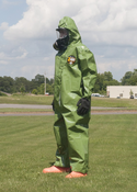 Kappler Zytron Z400 Coverall with Collar & Elastic Wrists and Ankles.