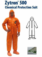 Kappler® Zytron® Z500 Coverall with Elastic Hood, Wrists, Sock Boots and Boot Flaps