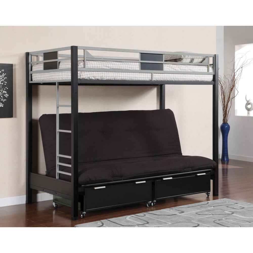 twin over futon bunk bed plans