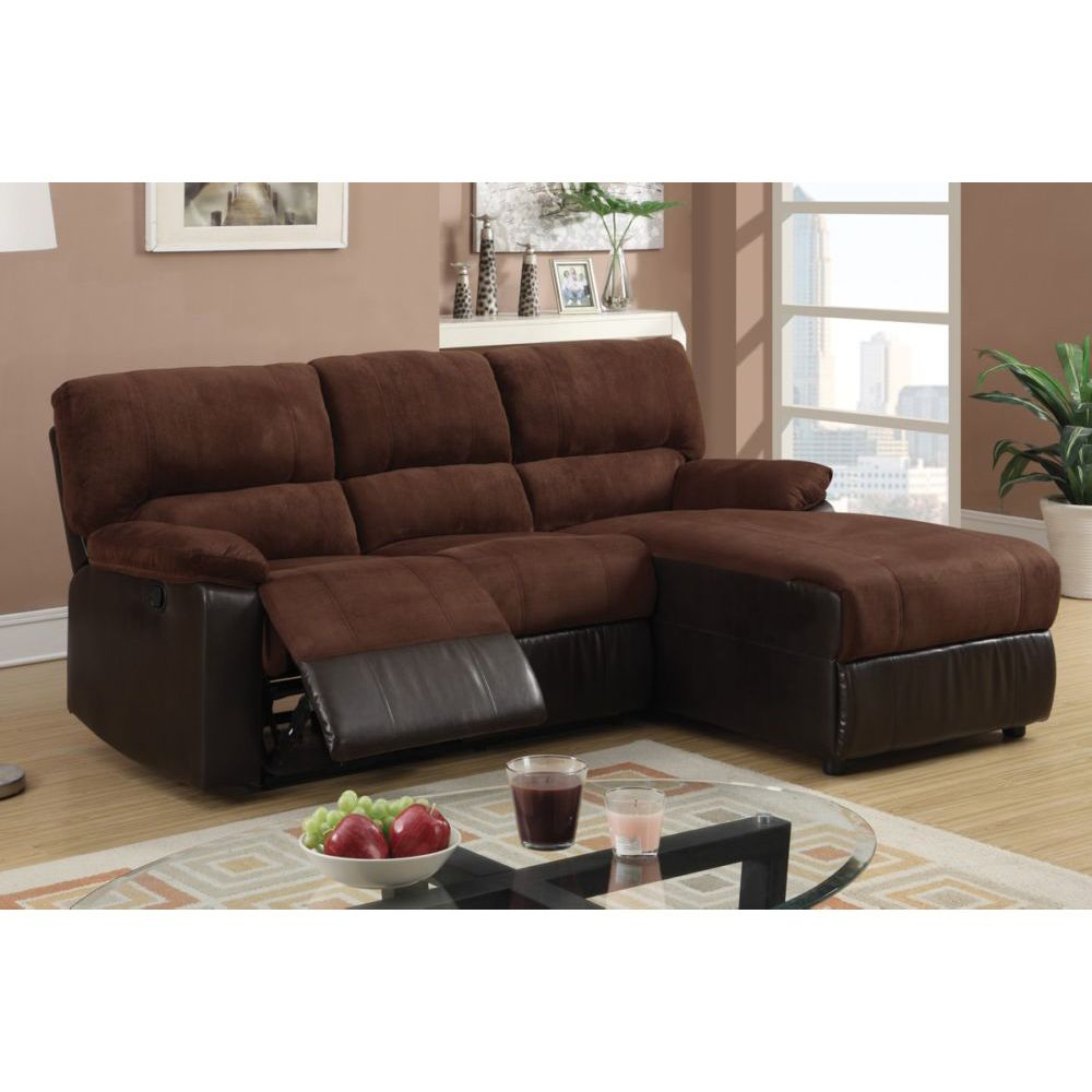 Sectional sofa with recliner and chaise sofa with chaise and recliner decor ideasdecor ideas Loveseat chaise sectional