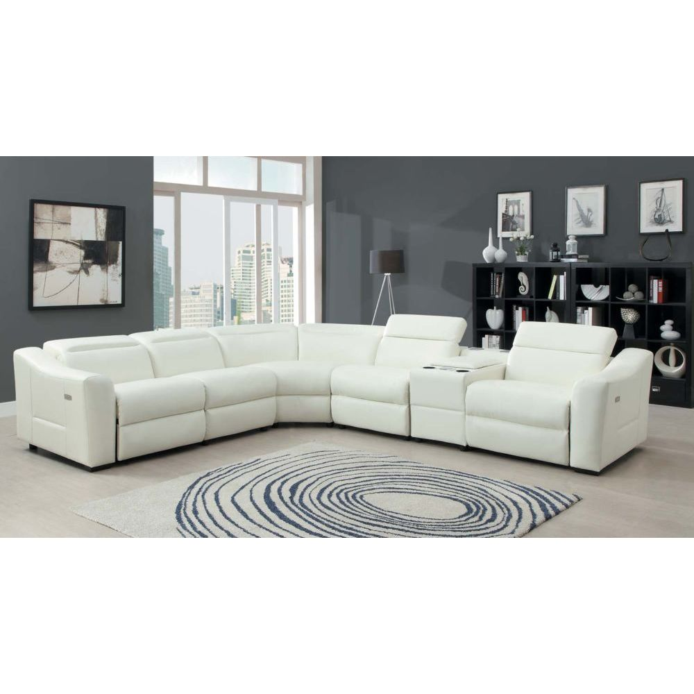Leather recliner sectional sofa for Leather sectional sofa