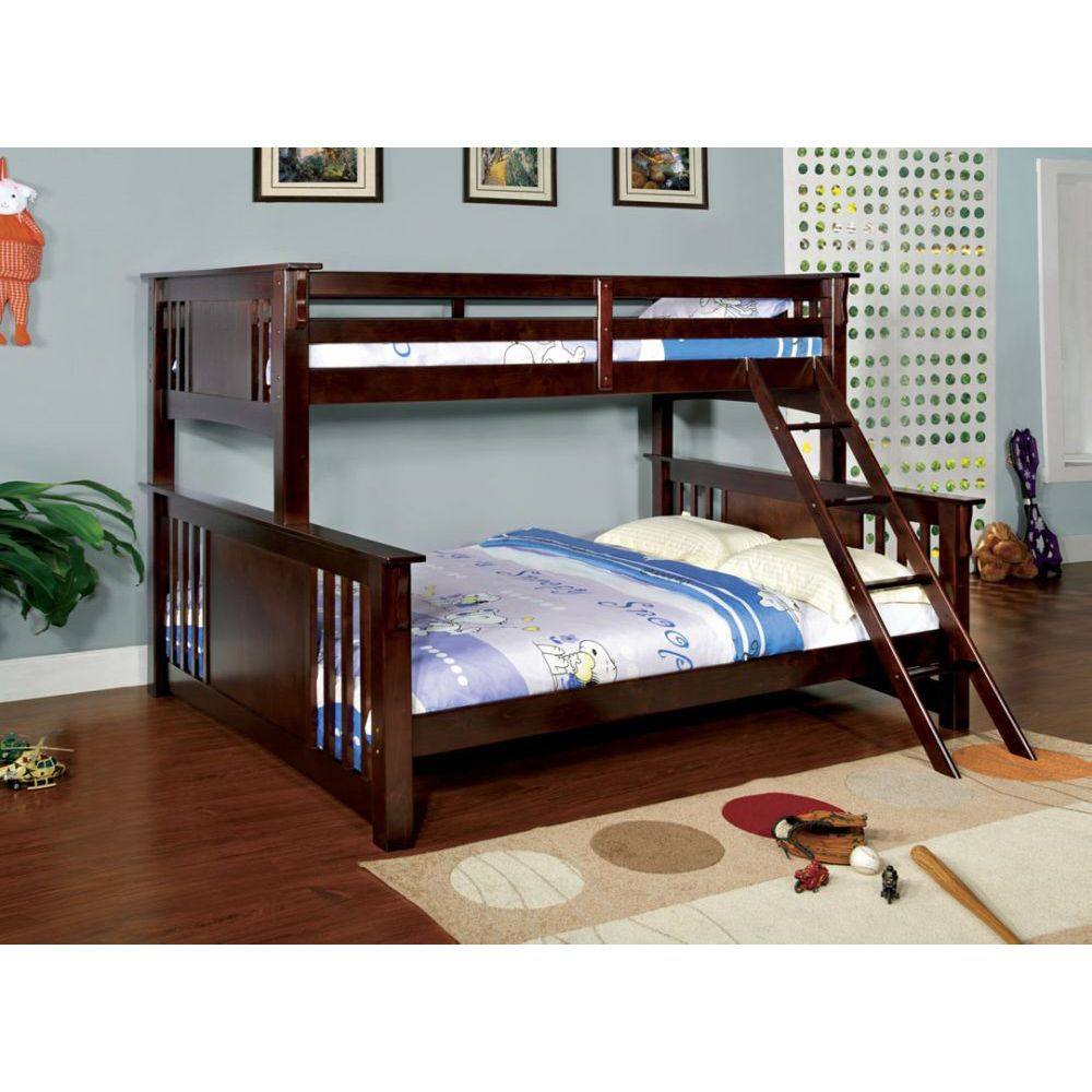 Details About Twin Over Full Metal Bunk Bed Sturdy Frame