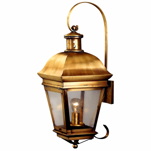 American Legacy Wall Light Lantern with Bracket &amp Scroll
