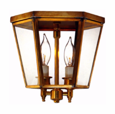 Annapolis Colonial Ceiling Light - Flush Mount
