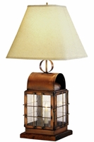 Back Bay Nautical Copper Lantern Table Lamp