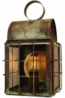 Back Bay Wall Sconce Copper Lantern