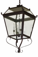 Beacon Pendant Hanging Copper Lantern