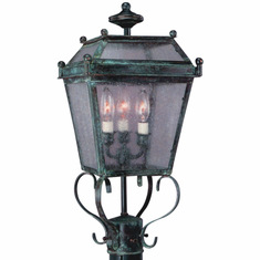 Beacon Post Light Outdoor Copper Lantern