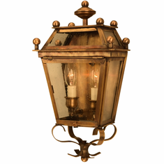 Beacon Wall Sconce Copper Lantern