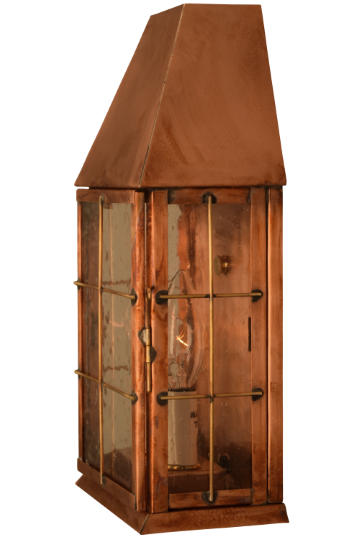 Blake Wall Sconce Copper Lantern