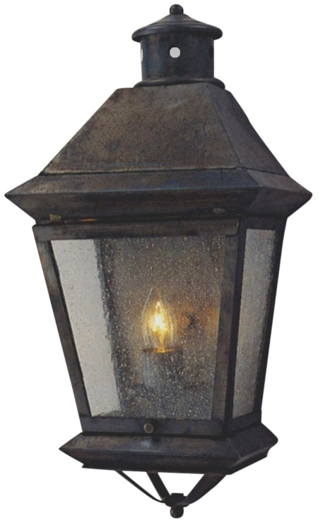 Handmade copper lanterns outdoor lighting made in usa 600 699 brookfield wall sconce copper lantern workwithnaturefo