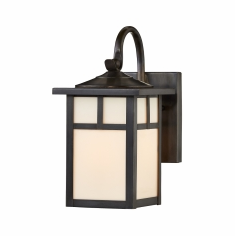California Mission Lantern Wall Light with Bracket