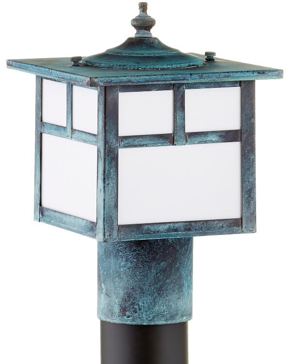 California mission outdoor indoor rustic lighting collection california mission post light outdoor copper lantern workwithnaturefo