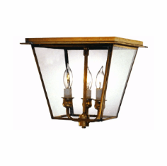 Carolina Colonial Ceiling Light - Flush Mount