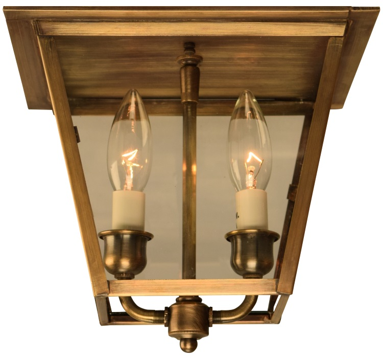 Carolina colonial flush mount ceiling light