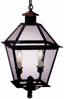 Carolina Colonial Pendant Hanging Copper Lantern