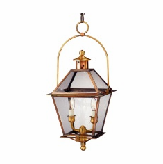 Carolina Lantern Colonial Copper Lighting Collection