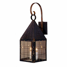 Colonial New England Copper Lantern Lighting Collection