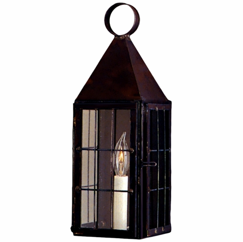 Colonial Williamsburg Wall Sconce Copper Lantern