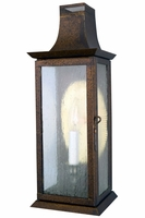 Elizabeth Wall Sconce Copper Lantern Outdoor Wall Light