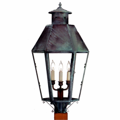 Franklin Copper Lantern Outdoor Lighting Collection