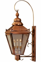 Hampton Wall Light with Bracket & Scroll