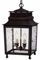 Jackson Pendant Copper Lantern Hanging Light