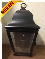 Miramonte Wall Sconce Brass Lantern - Small [CLOSE OUT]