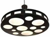 Movie Reel Pendant Large Hanging Light [Close Out]