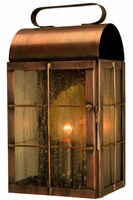 New Haven Colonial Wall Sconce Copper Lantern
